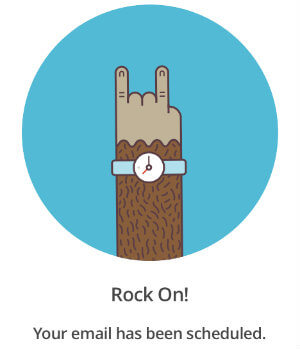 MailChimp Rock On