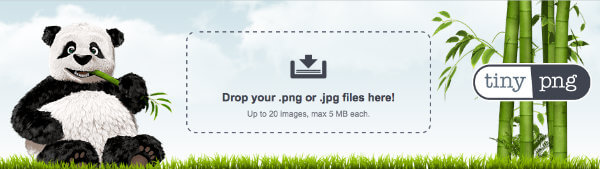 Screenshot of TinyPNG
