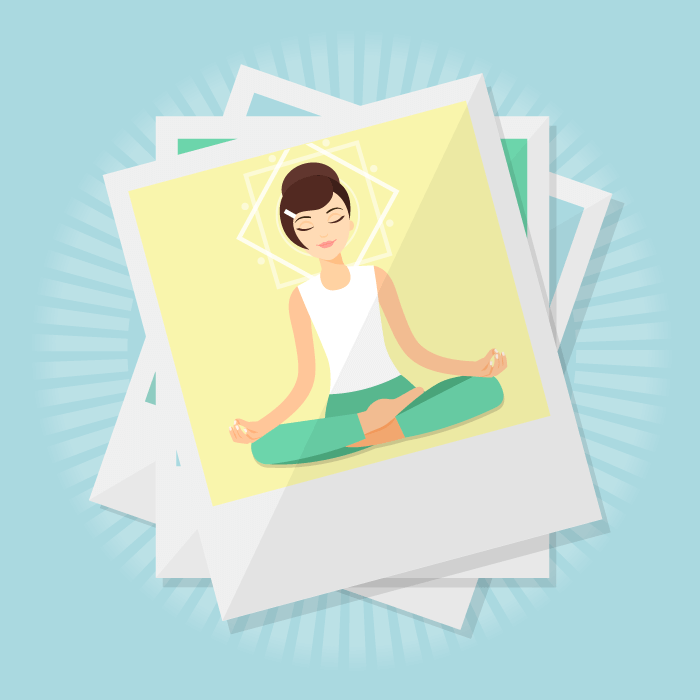 How to use great images on your yoga website