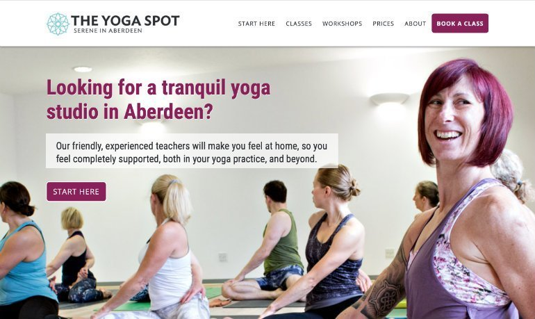 The Yoga Spot Homepage