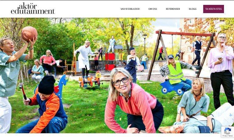 Aktör Edutainment Homepage