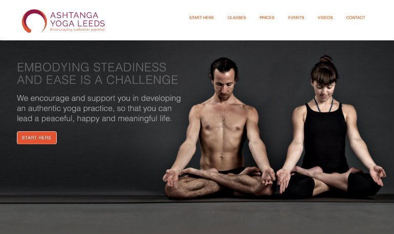 Ashtanga Yoga Leeds Homepage