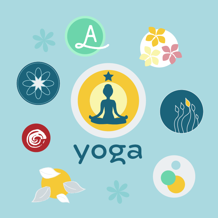 How to create a yoga logo