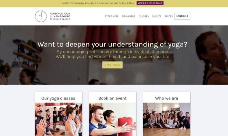 Ashtanga Yoga Luxembourg Homepage