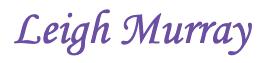 Leigh Murray logo