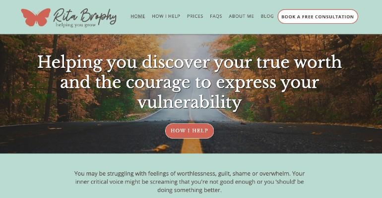 Rita Brophy Homepage