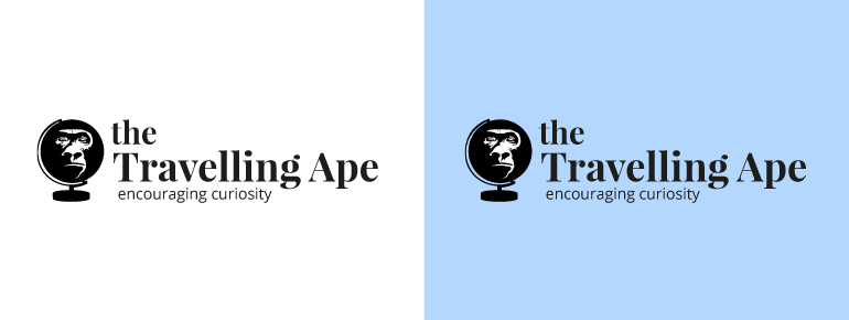 The Travelling Ape Final Logo